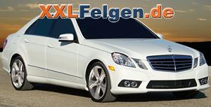 Mercedes Benz E-Klasse + 20 Zoll Hofele Reverso 2 Alufelgen
