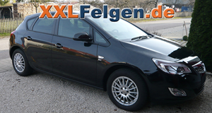 Winterfelgen DBV Florida für den Opel Astra J