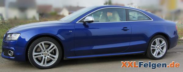 DBV Mauritius 18 Zoll Alufelgen für den Audi S5 B8