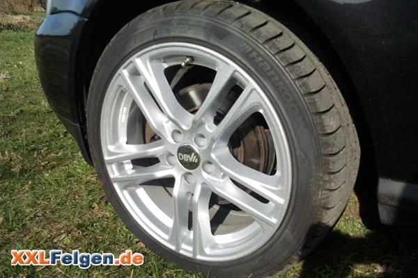 Audi A3 mit Winterfelgen DBV Mauritius 17 Zoll