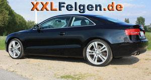 Audi A5 mit DBV Mauritius 20 Zoll Felgen