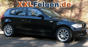 BMW 1er mit DBV Australia 17 Zoll Felgen