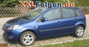 Ford Fiesta mit DBV Adria 14 Zoll Felgen