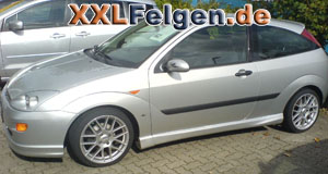 Ford Focus + DBV Arizona 17 Zoll Felgen
