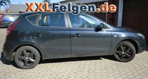 Hyundai i30 + DBV Samoa black 16 Zoll