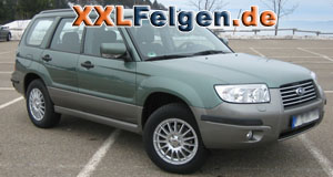 Subaru Forester SH + DBV Florida 16 Zoll Felgen