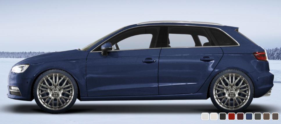 DBV 5KS 003 Alufelgen auf Audi