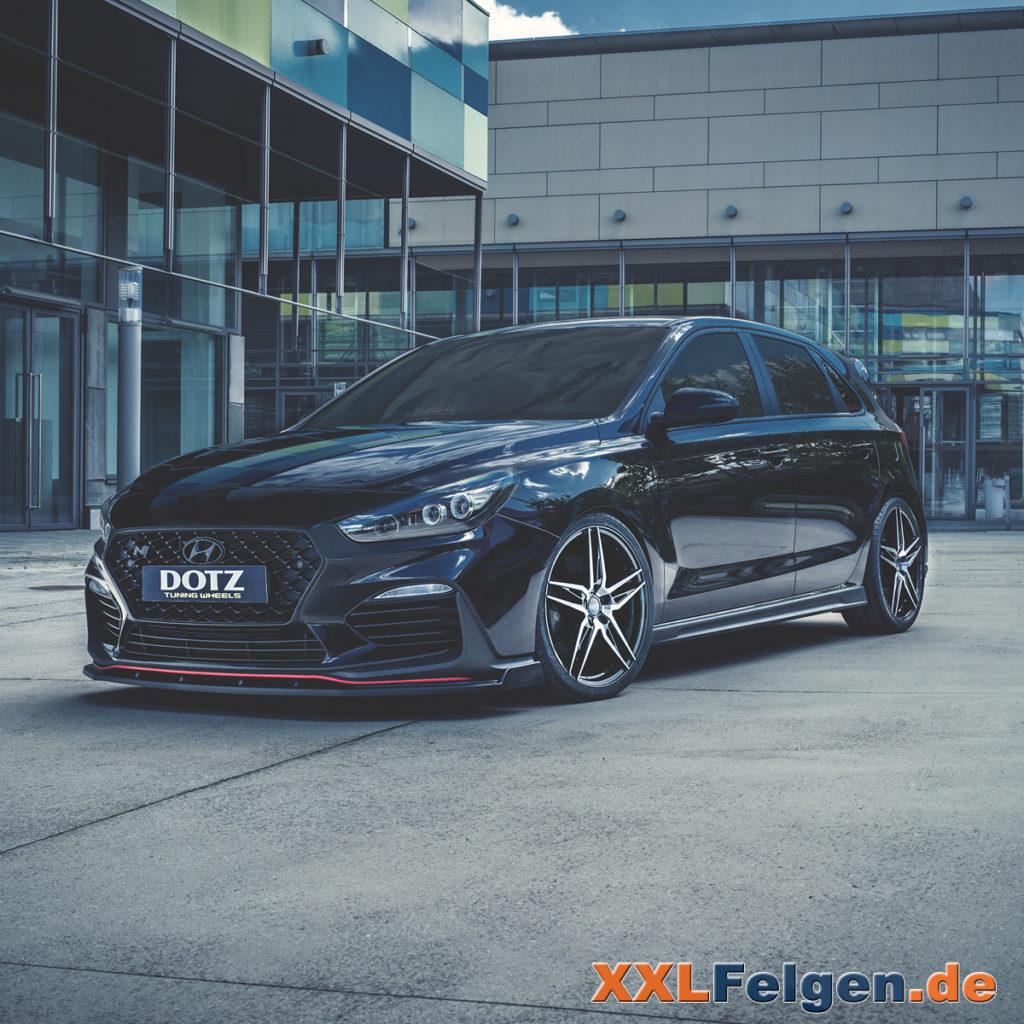 DOTZ Interlagos dark Hyundai i30N